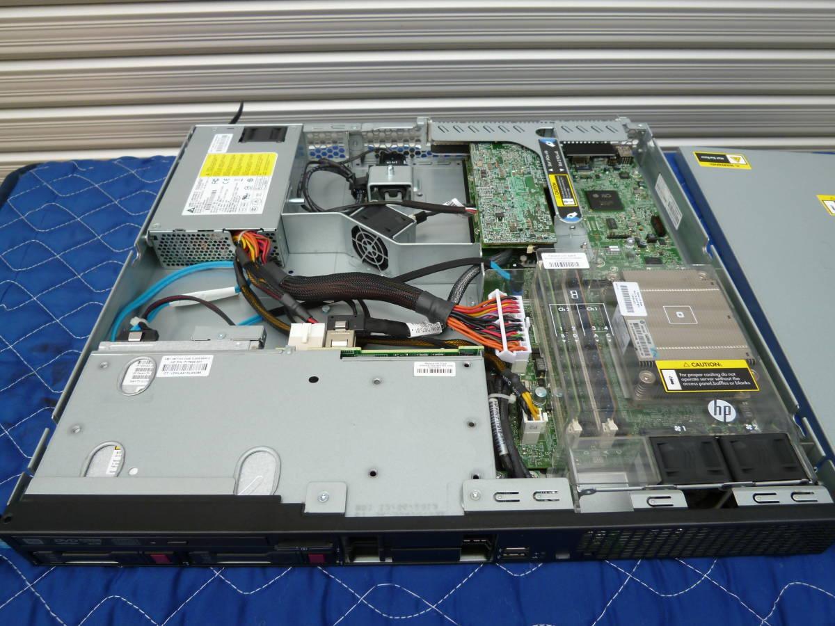 HP ProLiant DL320e Gen8 v2 Xeon E3-1240 v3(3.40GHz)/メモリ8GB/P222/HDD 1TB x2/OSなし_画像3