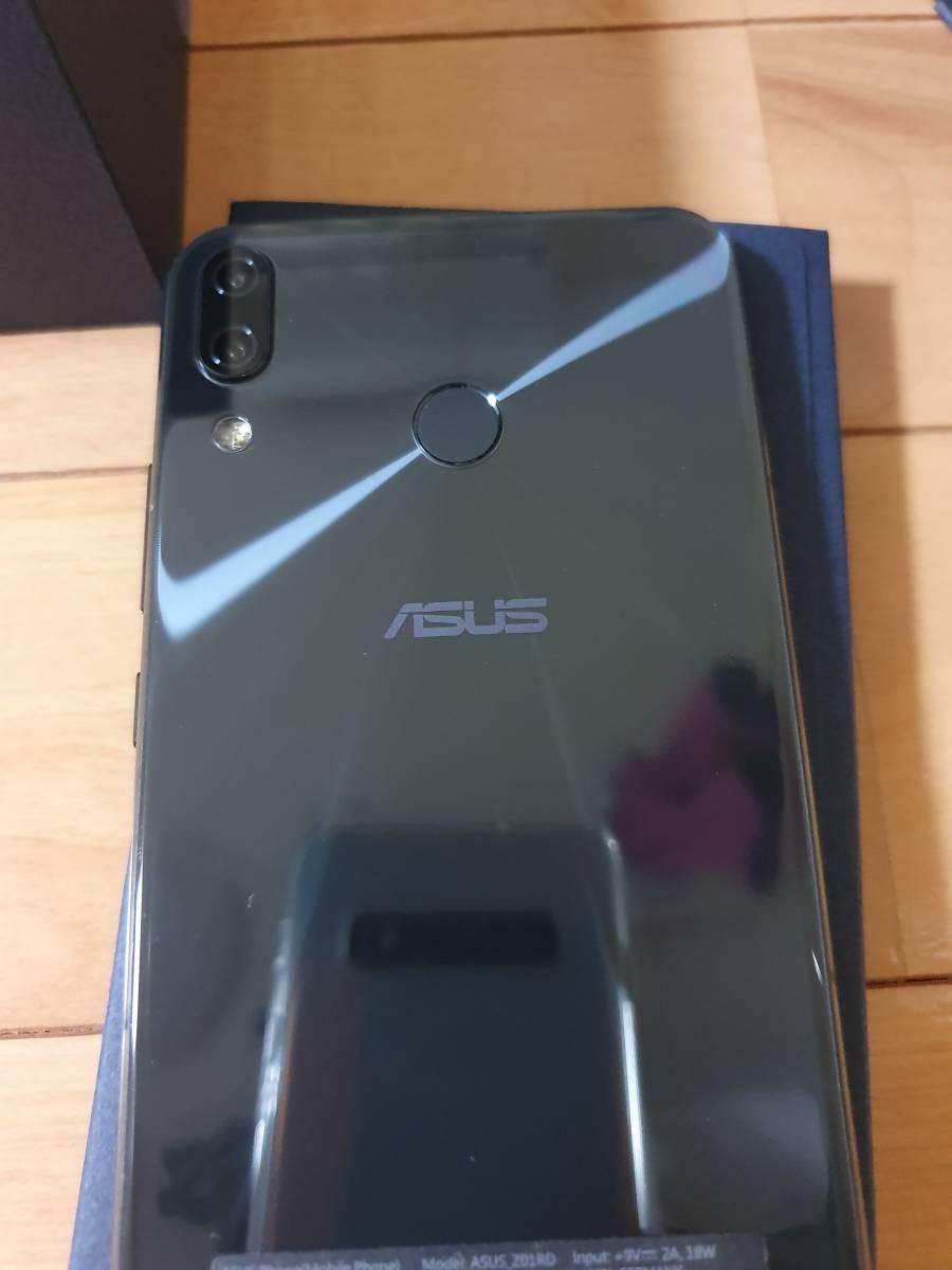 中古ASUS ZenFone 5Z 6.2インチ / SIMフリースマートフォン/シャイニーブラック (6GB/128GB/3,300mAh) ZS620KL-BK128S6/A _画像8