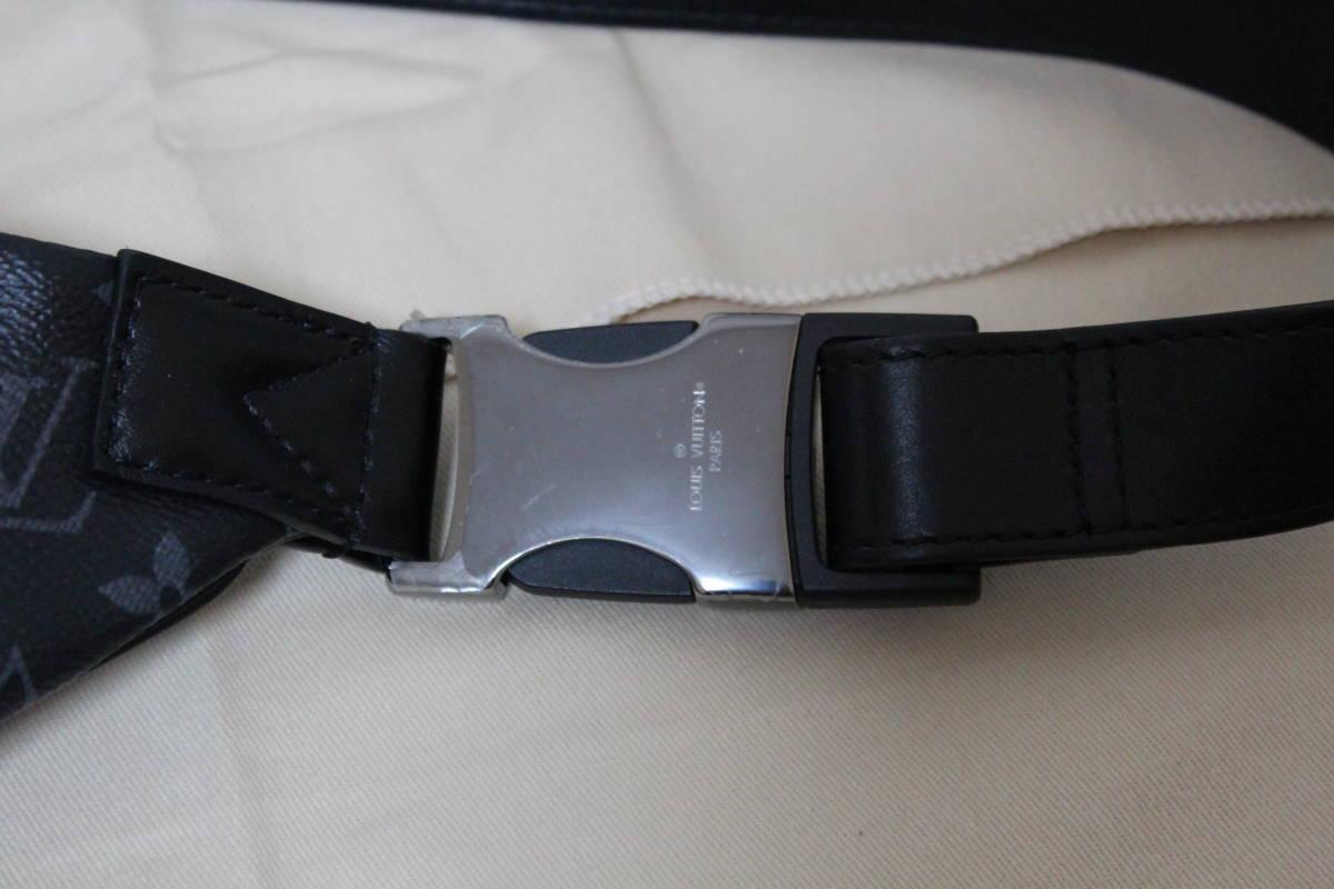 M44336 ルイ ヴィトン モノグラム エクリプス ディスカバリー バムバッグ ボディバッグ バックパック リュック ショルダーバッグ 美品 本物_画像5