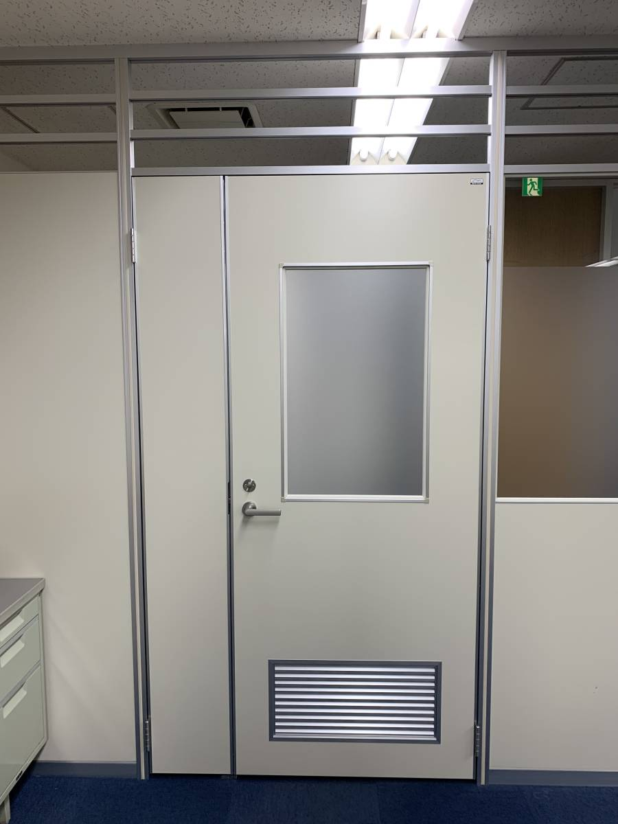アルミパーティション 親子ドア W1200×H2500 1枚