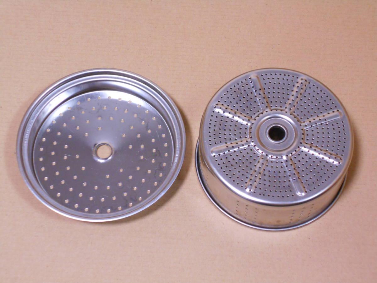 ■GSI 6カップ ステンレス パーコレーター ケトル 1度の使用 検/モチヅキ コーヒー 木製 ウッドハンドル_画像5