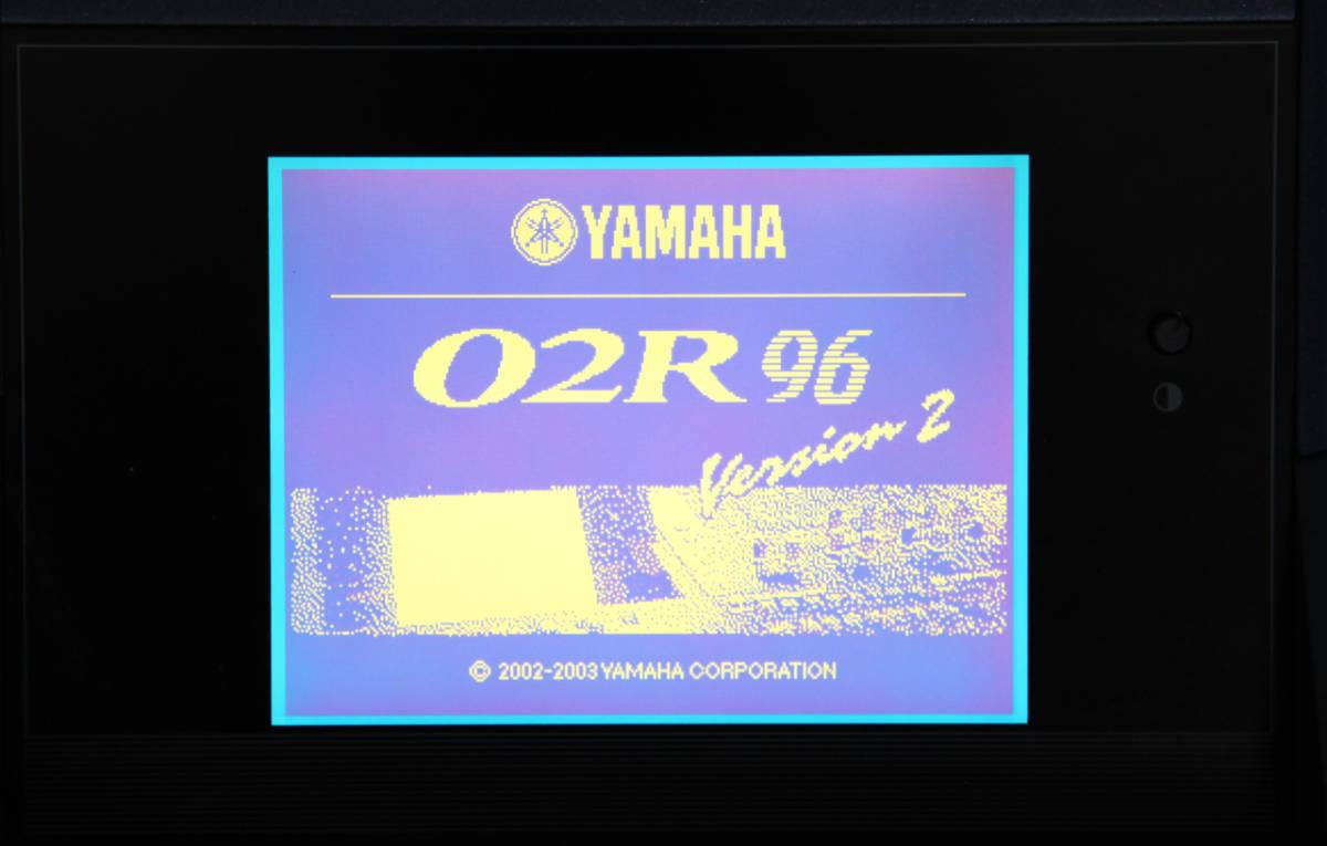 ■YAMAHA O2R96,メーターブリッジ,木製サイドパネル付_02R96 ver2.4.0
