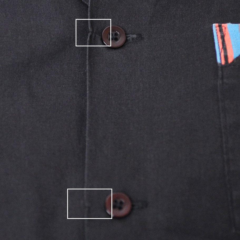 古着●キングルイ ボウリングシャツ フレックス スティール クオリティカウンツ L xwp_画像10