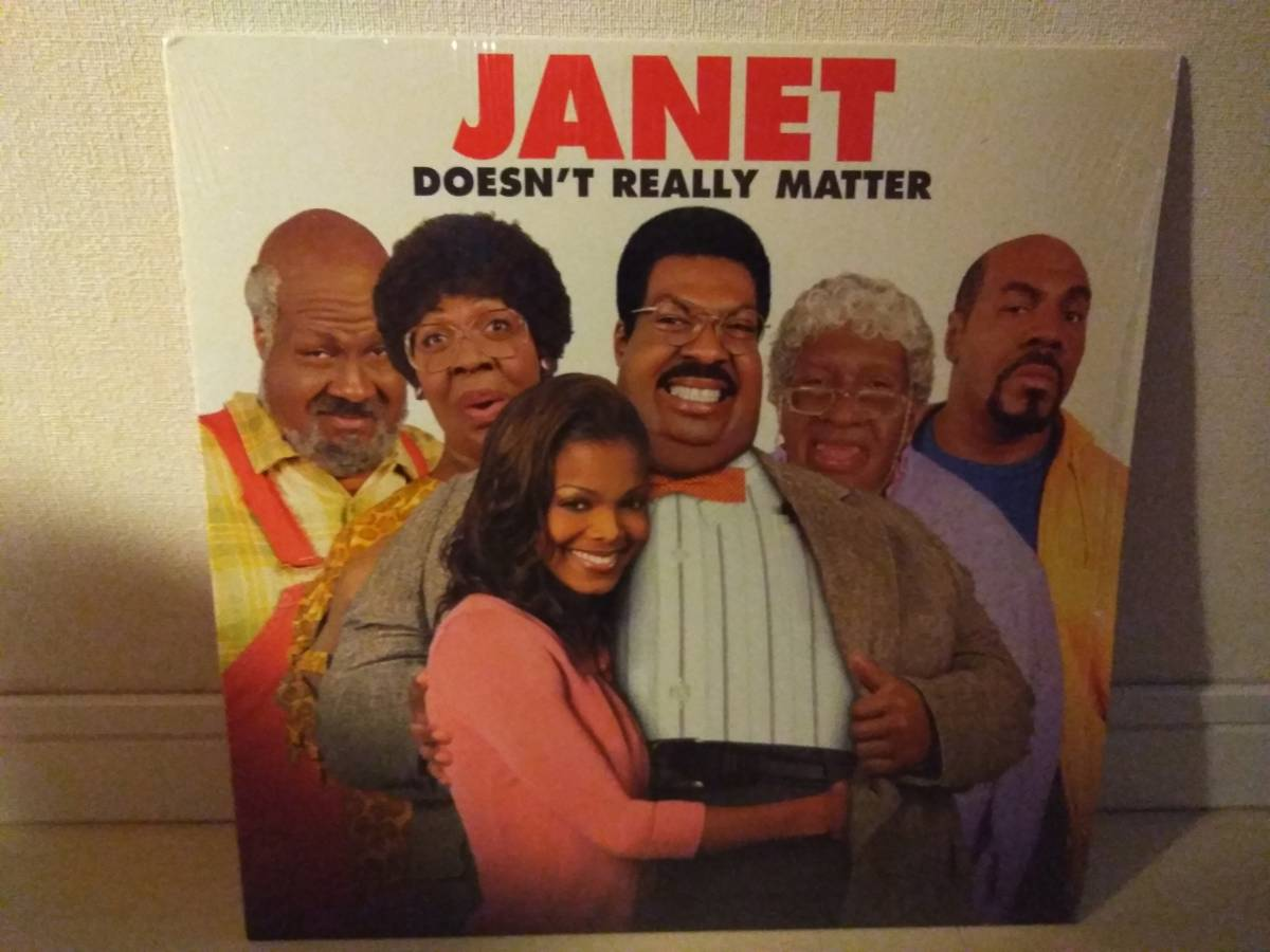 ■JANET JACKSON / DOESN'T REALLY MATTER アナログ ※_画像1