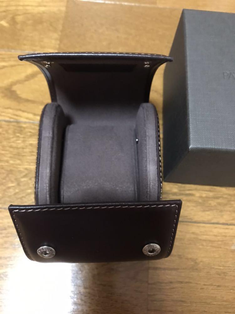 パテックフィリップ ノベルティ 非売品 時計携帯ケース 新品未使用_画像2