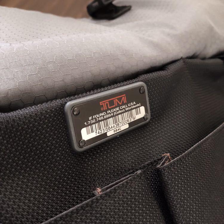 【正規品】TUMI トゥミ 2WAY ブリーフケース ビジネスバッグ メンズ ショルダーバッグ 黒 鞄 564C ★売り切り★_画像10