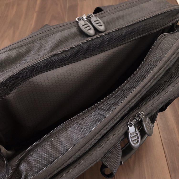 【正規品】TUMI トゥミ 2WAY ブリーフケース ビジネスバッグ メンズ ショルダーバッグ 黒 鞄 564C ★売り切り★_画像7