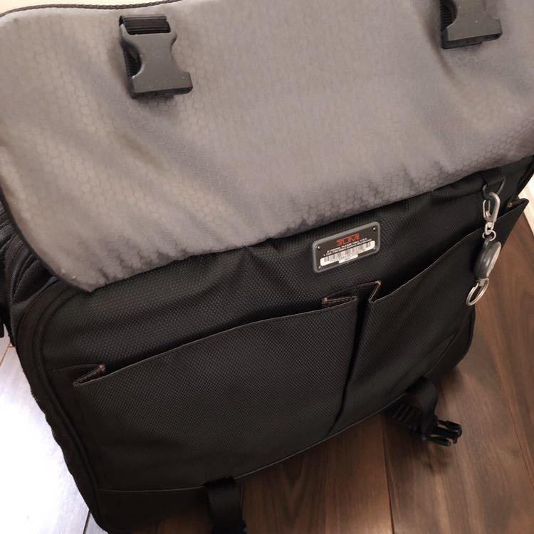 【正規品】TUMI トゥミ 2WAY ブリーフケース ビジネスバッグ メンズ ショルダーバッグ 黒 鞄 564C ★売り切り★_画像9