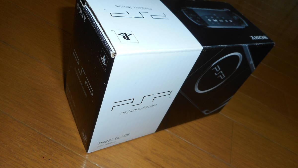 即決価格★送料無料★ 《新品未使用》プレーステーションポータブル PSP-3000PBピアノブラック_画像5
