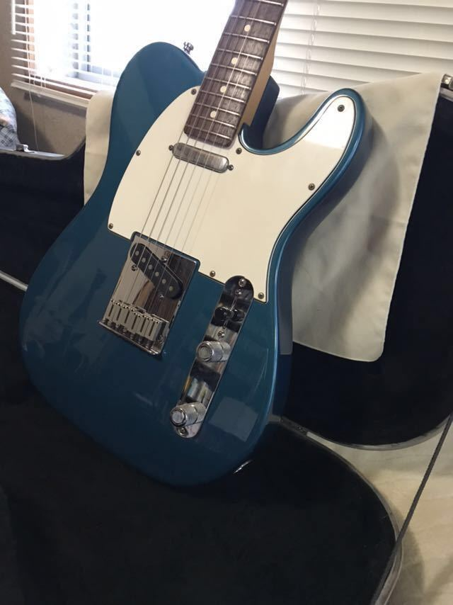 Fender USA American Standard Telecaster テレキャスター 1998 Aquamarine アクアマリンカラー 純正ハードケース_画像6