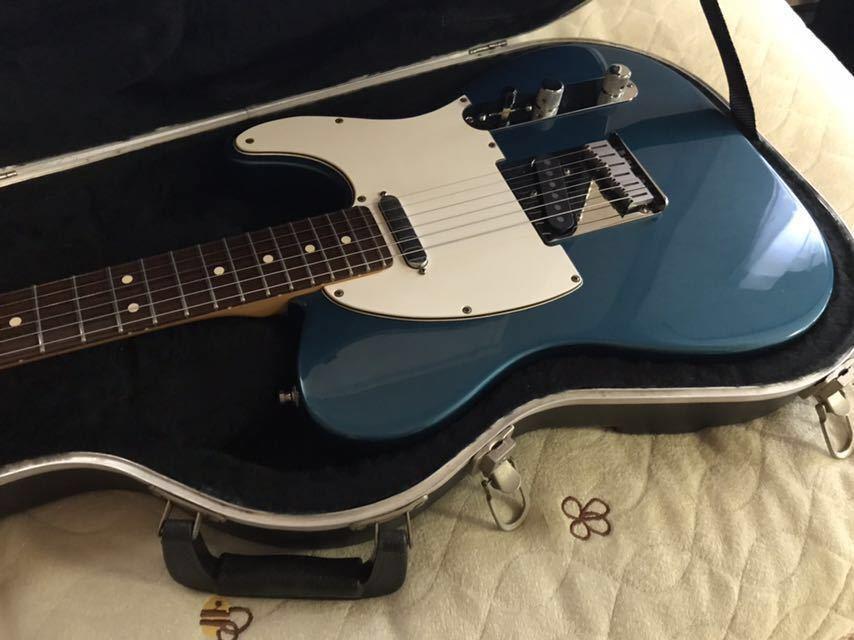 Fender USA American Standard Telecaster テレキャスター 1998 Aquamarine アクアマリンカラー 純正ハードケース_画像2