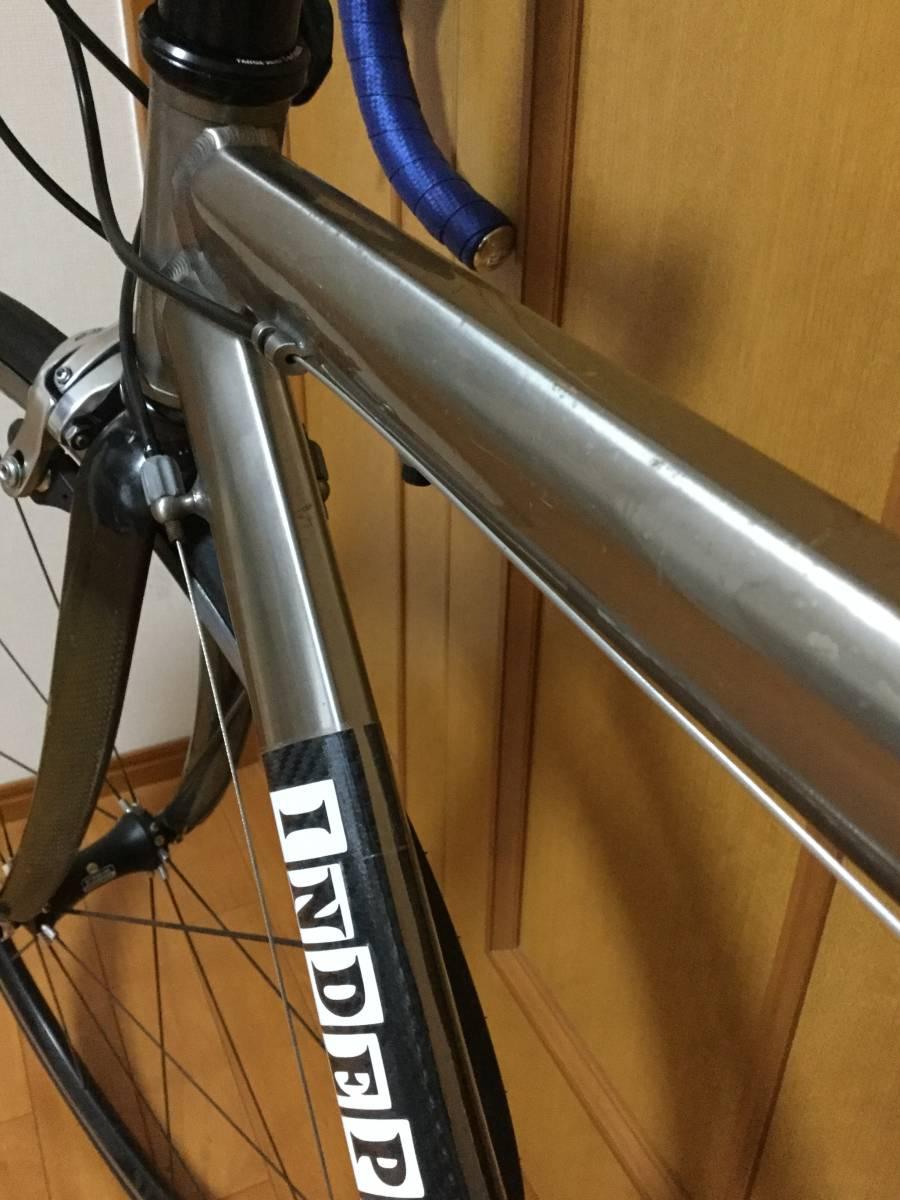 チタン-カーボンバック ロードバイク_画像8