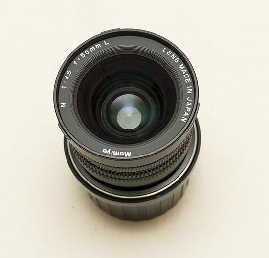 マミヤ7Ⅱ 50mm/4.5 ファインダー付き 綺麗です_画像2