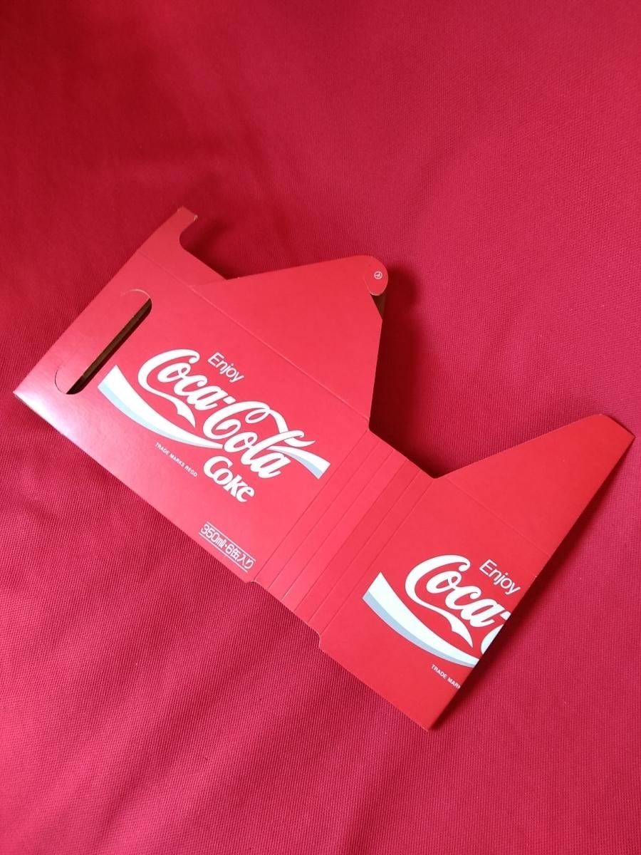 【新品未使用】コカ・コーラ『Coca-Cola☆ヴィンテージ☆カートン』〈350ml・6缶入用〉★激レア非売品★業務用★昭和レトロ空箱★_画像2