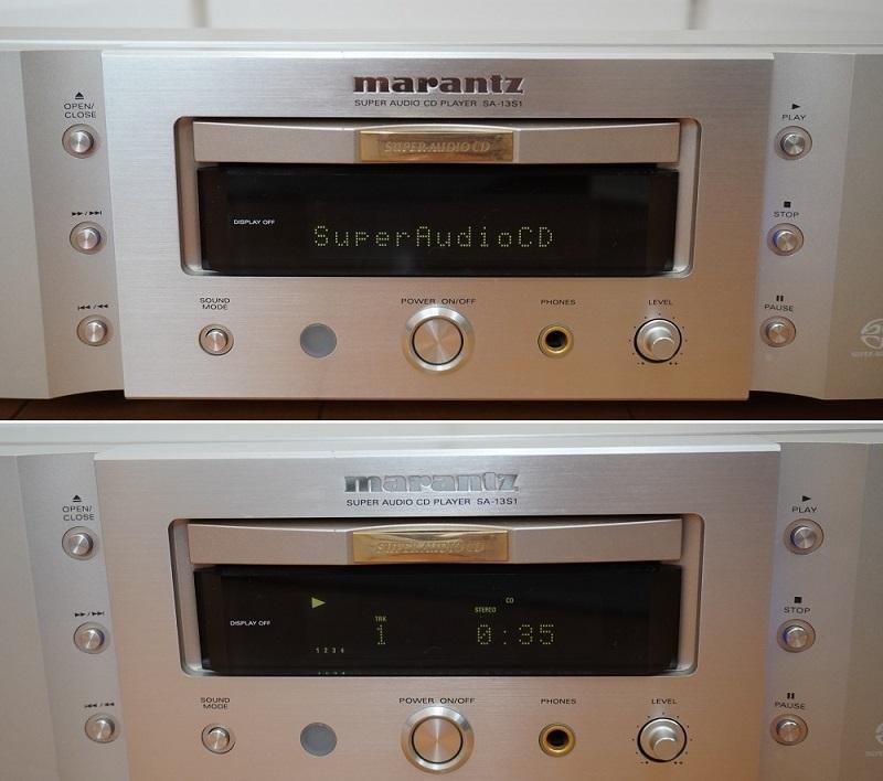 【marantz】マランツ SA-13S1 CD/SACDプレーヤー(美品)_画像3