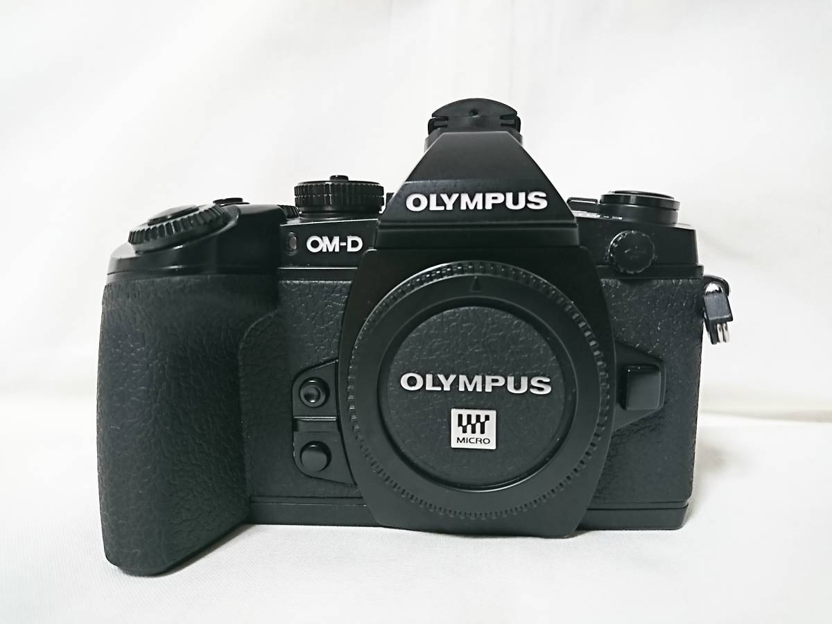 美品!おまけ多数!OLYMPUS OM-D E-M1 12-40mm F2.8 PRO レンズキット OLYMPUS デジタル一眼レフ_画像2