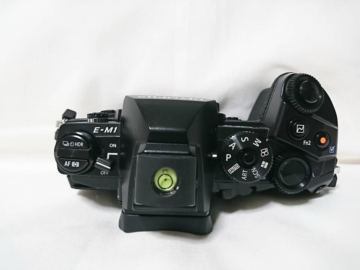 美品!おまけ多数!OLYMPUS OM-D E-M1 12-40mm F2.8 PRO レンズキット OLYMPUS デジタル一眼レフ_画像4