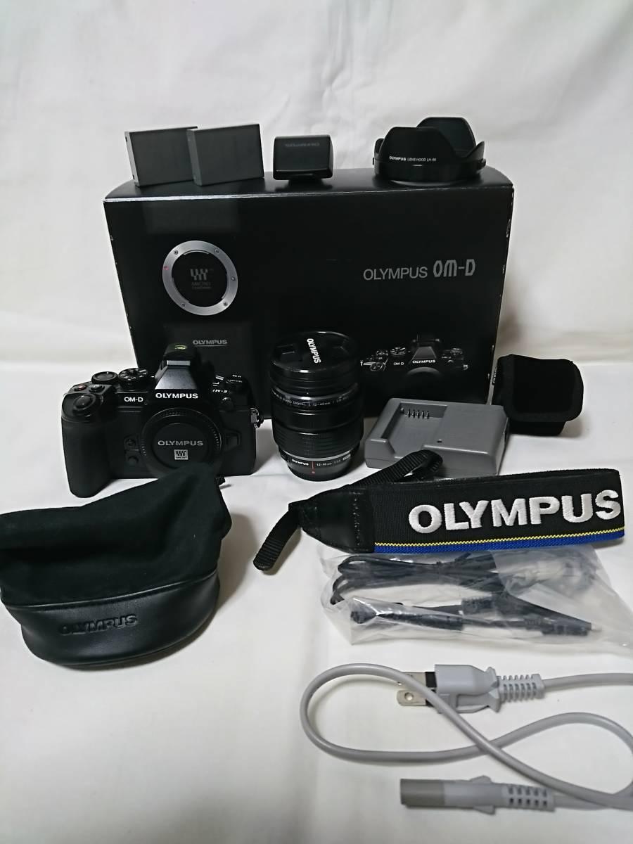 美品!おまけ多数!OLYMPUS OM-D E-M1 12-40mm F2.8 PRO レンズキット OLYMPUS デジタル一眼レフ