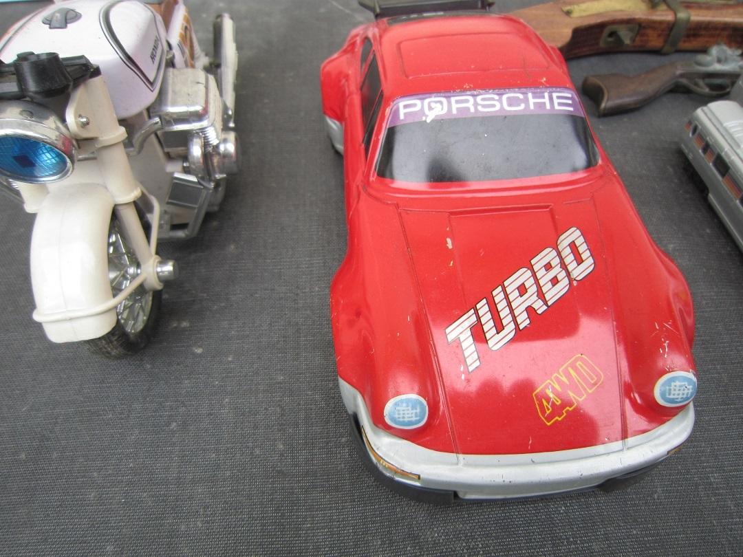 金属製の玩具 ブリキの車 鉄道模型 等 【東】209 0.5  _画像2