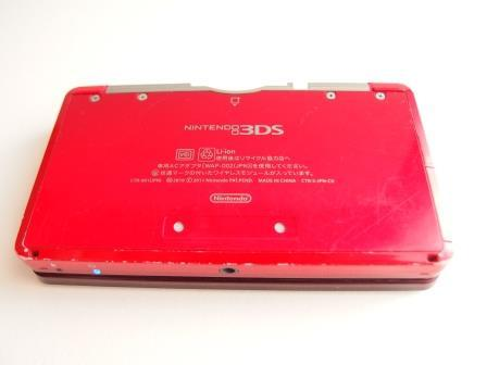 ニンテンドー 3DS 本体 フレアレッド_画像4