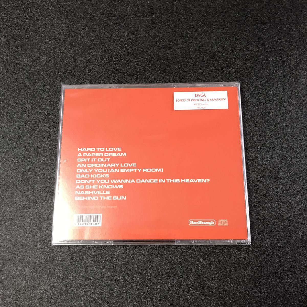 DYGL「SONGS OF INNOCENCE & EXPERIENCE」TOWER RECORDS特典付き_画像3