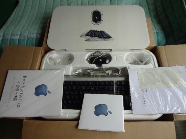 Apple PowerMac G4Cube 元箱入り 美品ジャンク!!_画像8