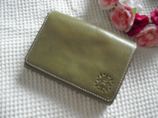 新品ダコタ*牛革財布*収納多数¥12960_画像1