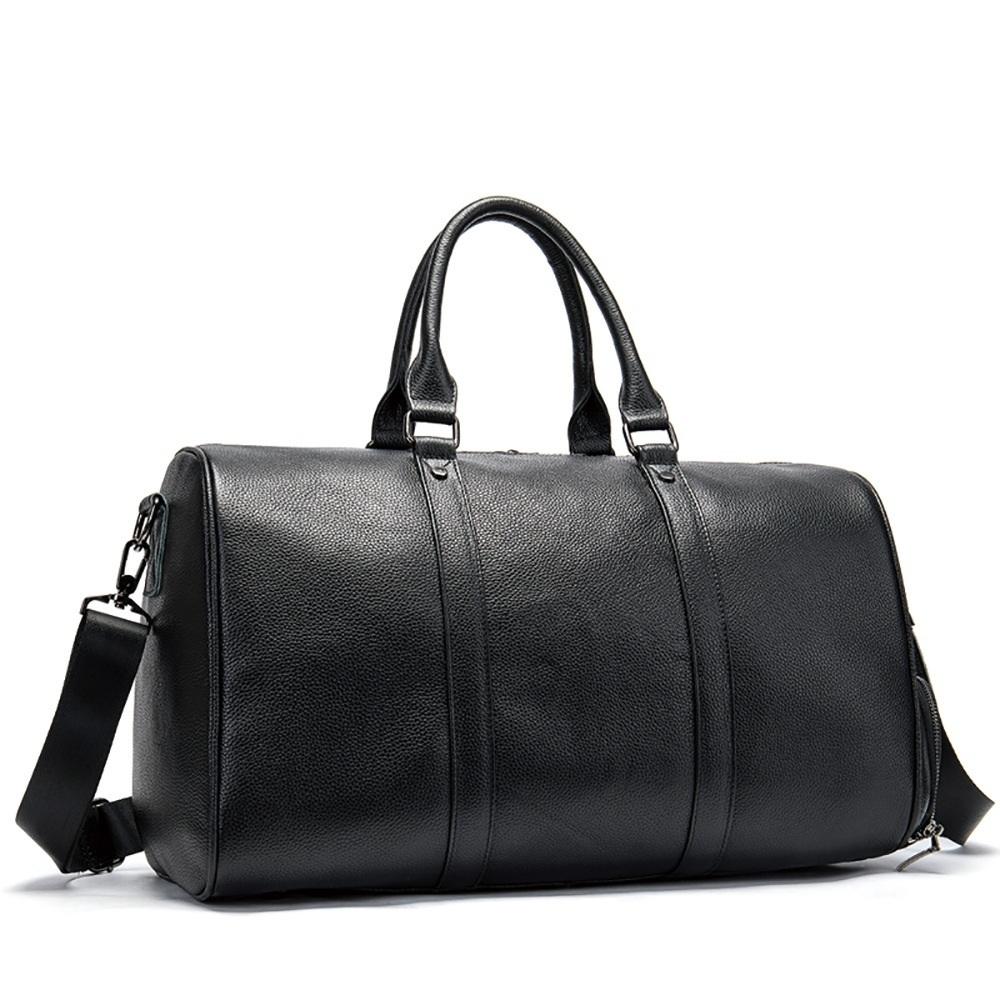 高品質 牛革 本革 レザー ボストンバッグ ハンドバッグ ショルダーストラップ付き メンズバッグ 旅行 出張 鞄