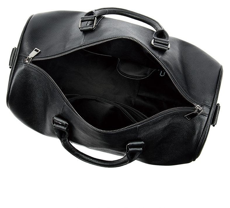 高品質 牛革 本革 レザー ボストンバッグ ハンドバッグ ショルダーストラップ付き メンズバッグ 旅行 出張 鞄_画像2