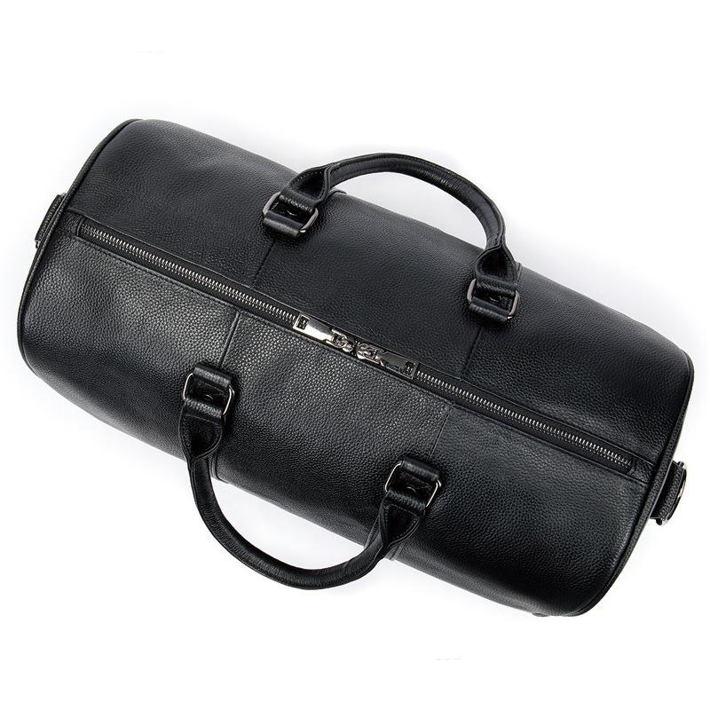 高品質 牛革 本革 レザー ボストンバッグ ハンドバッグ ショルダーストラップ付き メンズバッグ 旅行 出張 鞄_画像6