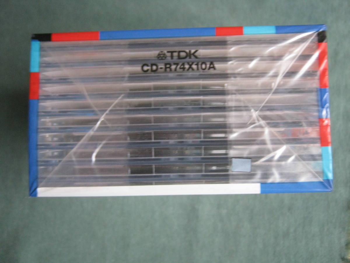 TDK CD-R 650MB CD-R74X10A 未開封品_画像4