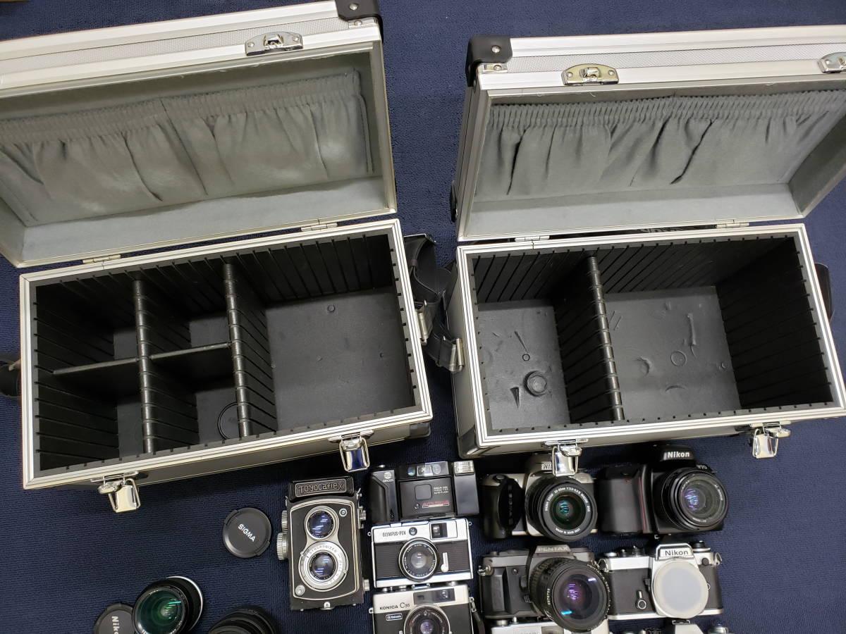 3982■1円スタ!ジャンク カメラ・レンズ・カメラ用品・アクセサリーまとめ売り Nikon Canon KONICA PENTAX OLYMPUS など_画像10