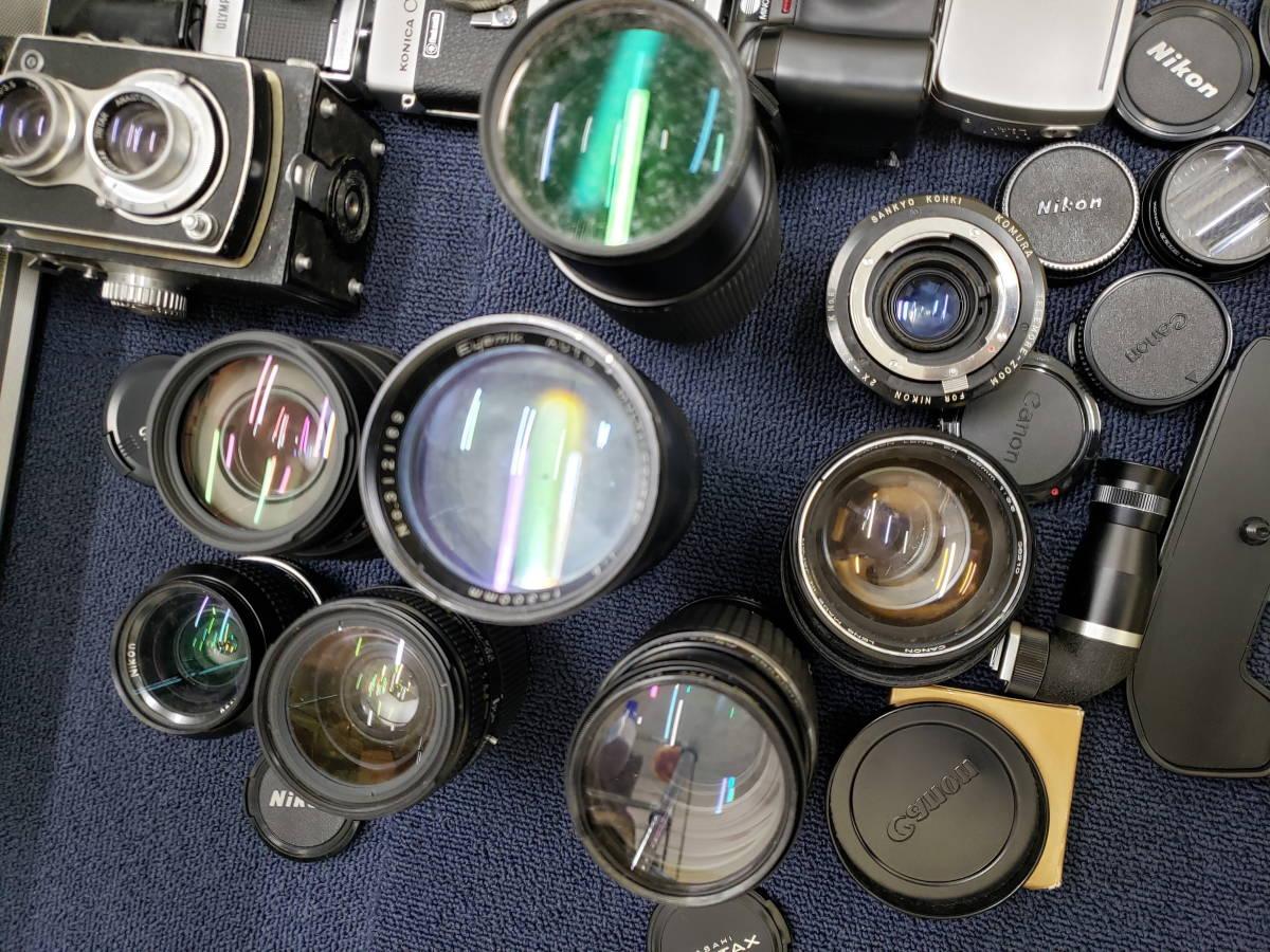 3982■1円スタ!ジャンク カメラ・レンズ・カメラ用品・アクセサリーまとめ売り Nikon Canon KONICA PENTAX OLYMPUS など_画像9