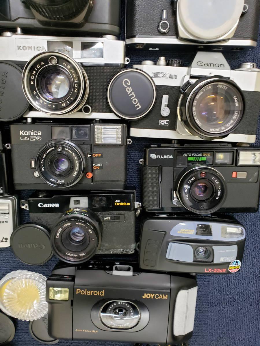 3982■1円スタ!ジャンク カメラ・レンズ・カメラ用品・アクセサリーまとめ売り Nikon Canon KONICA PENTAX OLYMPUS など_画像3