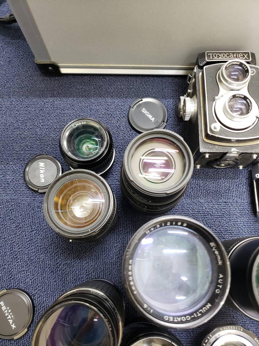 3982■1円スタ!ジャンク カメラ・レンズ・カメラ用品・アクセサリーまとめ売り Nikon Canon KONICA PENTAX OLYMPUS など_画像8