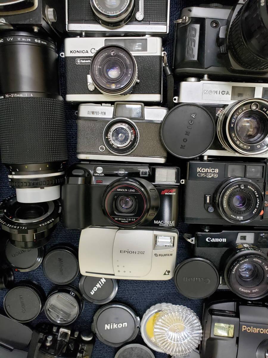 3982■1円スタ!ジャンク カメラ・レンズ・カメラ用品・アクセサリーまとめ売り Nikon Canon KONICA PENTAX OLYMPUS など_画像5