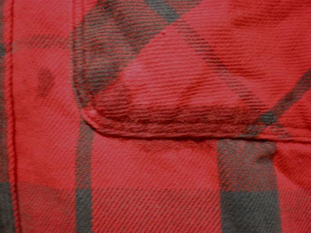 即決 ヴィンテージ USA製 ST JOHNSBAY ヘヴィーネルシャツ L 検BIGMACビッグマック_画像7