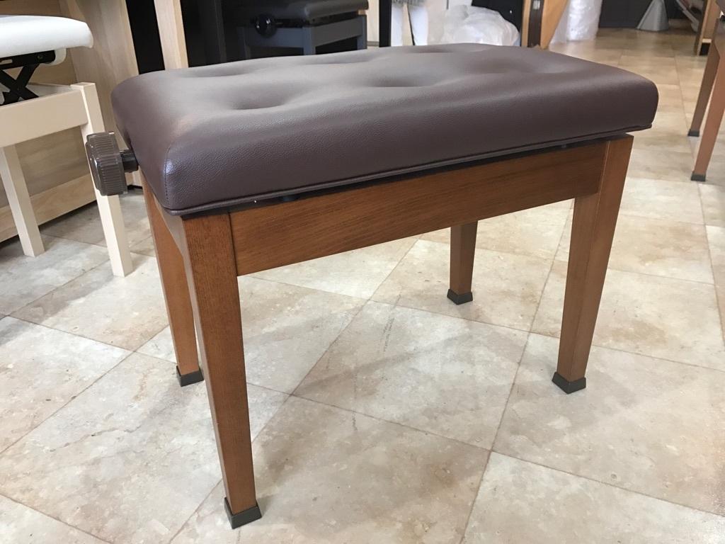 ピアノ KAWAI製 高低自在ピアノ椅子 木目 新品展示処分品 新品です!!_画像2