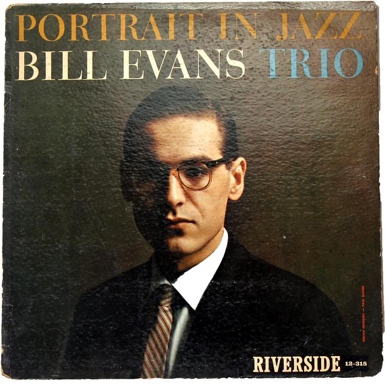 PORTRAIT IN JAZZ / BILL EVANS Trio◆オリジナル RLP12-315 RIVERSIDE MONO DG incなし 235 West 8