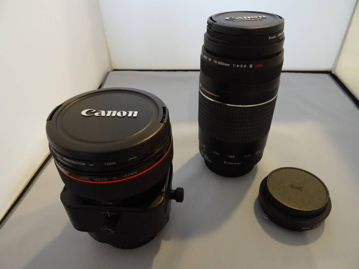 CANON キヤノン TS-E 24mm F3.5L ティルトシフトレンズ  ワンオーナー +++RAYQUAL LM-EFM
