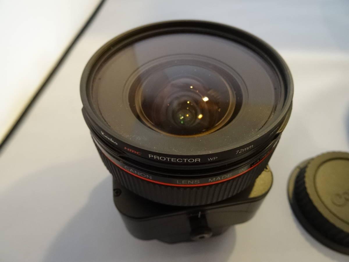 CANON キヤノン TS-E 24mm F3.5L ティルトシフトレンズ  ワンオーナー +++RAYQUAL LM-EFM_画像2