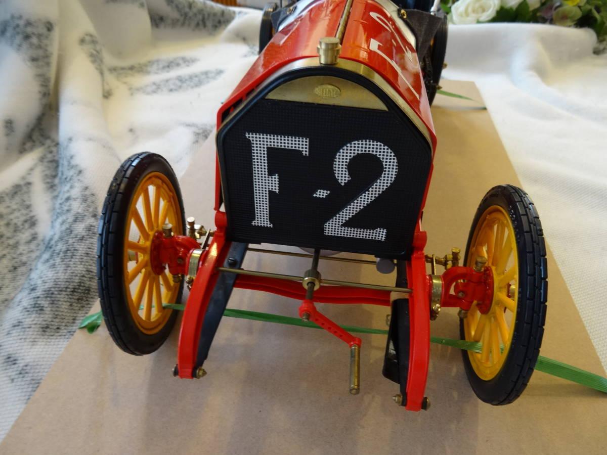 ポケール フィアット 1/8, F2 Fiat 、フランス ツ―リング グランプリ 、POCHER  完成品 超レア、送料は出品者が負担_画像10
