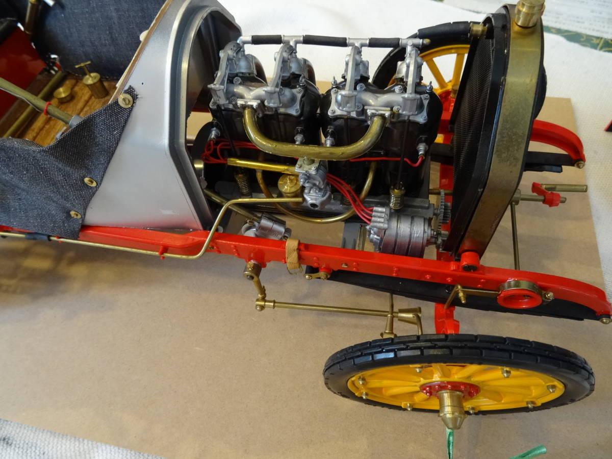 ポケール フィアット 1/8, F2 Fiat 、フランス ツ―リング グランプリ 、POCHER  完成品 超レア、送料は出品者が負担_画像5