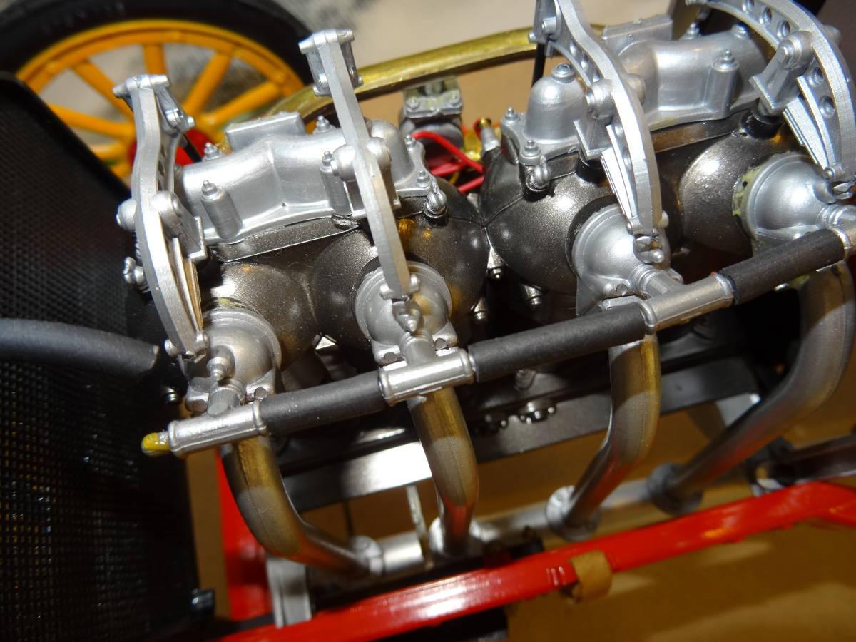 ポケール フィアット 1/8, F2 Fiat 、フランス ツ―リング グランプリ 、POCHER  完成品 超レア、送料は出品者が負担_画像7