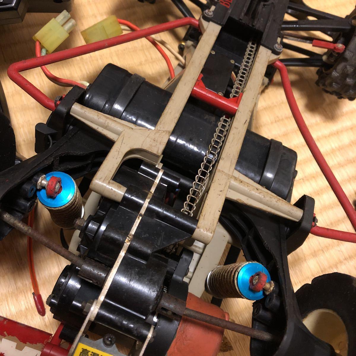 マルイ サムライ ジャンク ラジコン RCカー プロボ付き マグナムジュニア 年代モノ_画像3