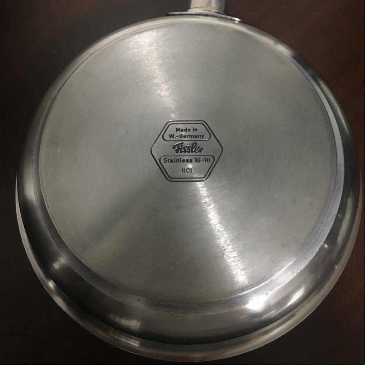 【中古美品】銀座松屋購入フィスラー Fissler プロコレクション フライパン直径24センチ_画像5