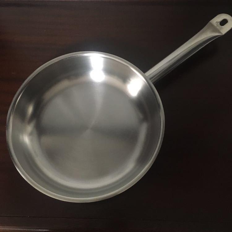 【中古美品】銀座松屋購入フィスラー Fissler プロコレクション フライパン直径24センチ_画像9