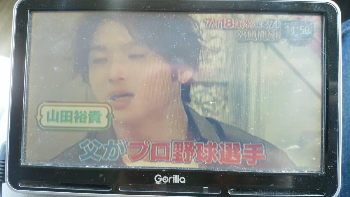 SANYO  ゴリラ  NV-SD740DT  TV、ナビ作動確認済みです。_画像2
