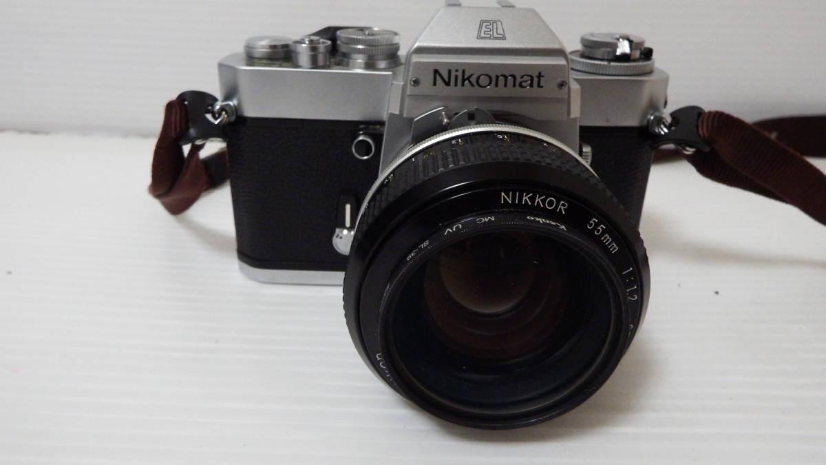 Nikon Nikomat EL NIKKOR 55mm1:12 ※ジャンク品