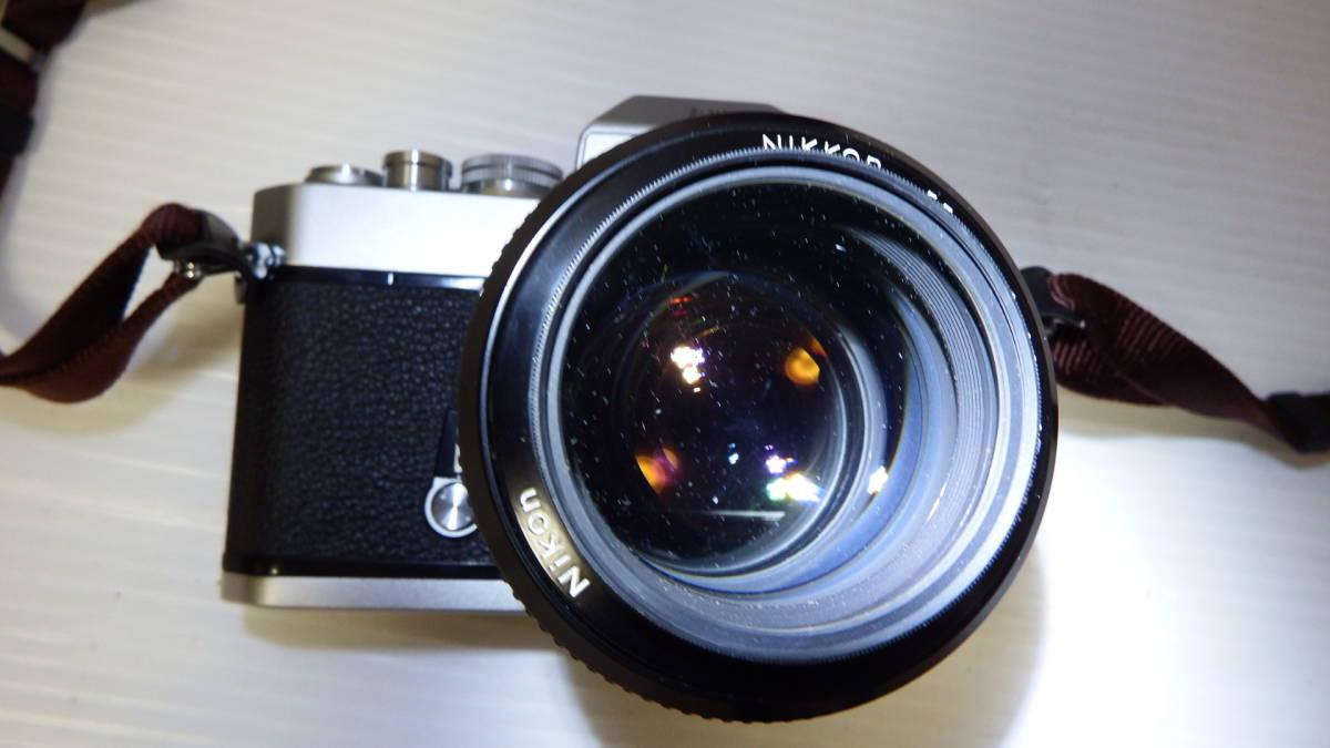 Nikon Nikomat EL NIKKOR 55mm1:12 ※ジャンク品_画像2
